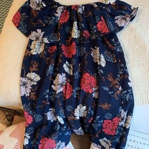 Navy Floral dress from DressUp